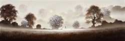 A New Day Dawns by John Waterhouse - Limited Edition on Paper sized 45x15 inches. Available from Whitewall Galleries