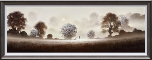 A New Day Dawns by John Waterhouse - Framed Limited Edition on Paper